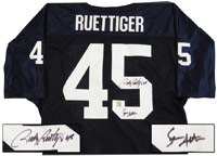 Sean Astin & Rudy Ruetiger Autographed Notre Dame Jersey