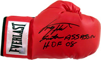 Larry Holmes Signed Everlast Boxing Glove