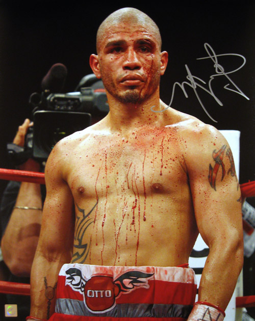 Miguel Cotto Signed 16x20