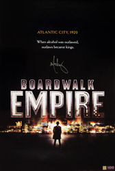 Mark Wahlberg Signed Boardwalk Empire HBO Poster