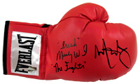 "Mark Wahlberg & ""Irish"" Micky Ward ""The Fighter"" Signed Everlast Boxing Glove"
