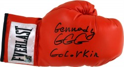 "Gennady ""GGG\"" Golovkin Autographed Everlast Boxing Glove"