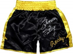 Sylvester Stallone Autographed ROCKY II Boxing Trunks