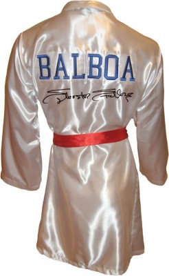 Sylvester Stallone Autographed ROCKY IV Boxing Robe