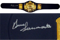 Bruno Sammartino Autographed Replica Heavyweight Championship Belt