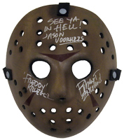 Robert Englund Autographed Jason Voorhees Mask