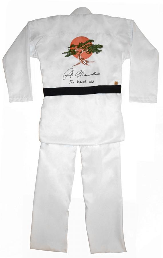 ralph macchio the karate kid signed miyagi gi by authentic