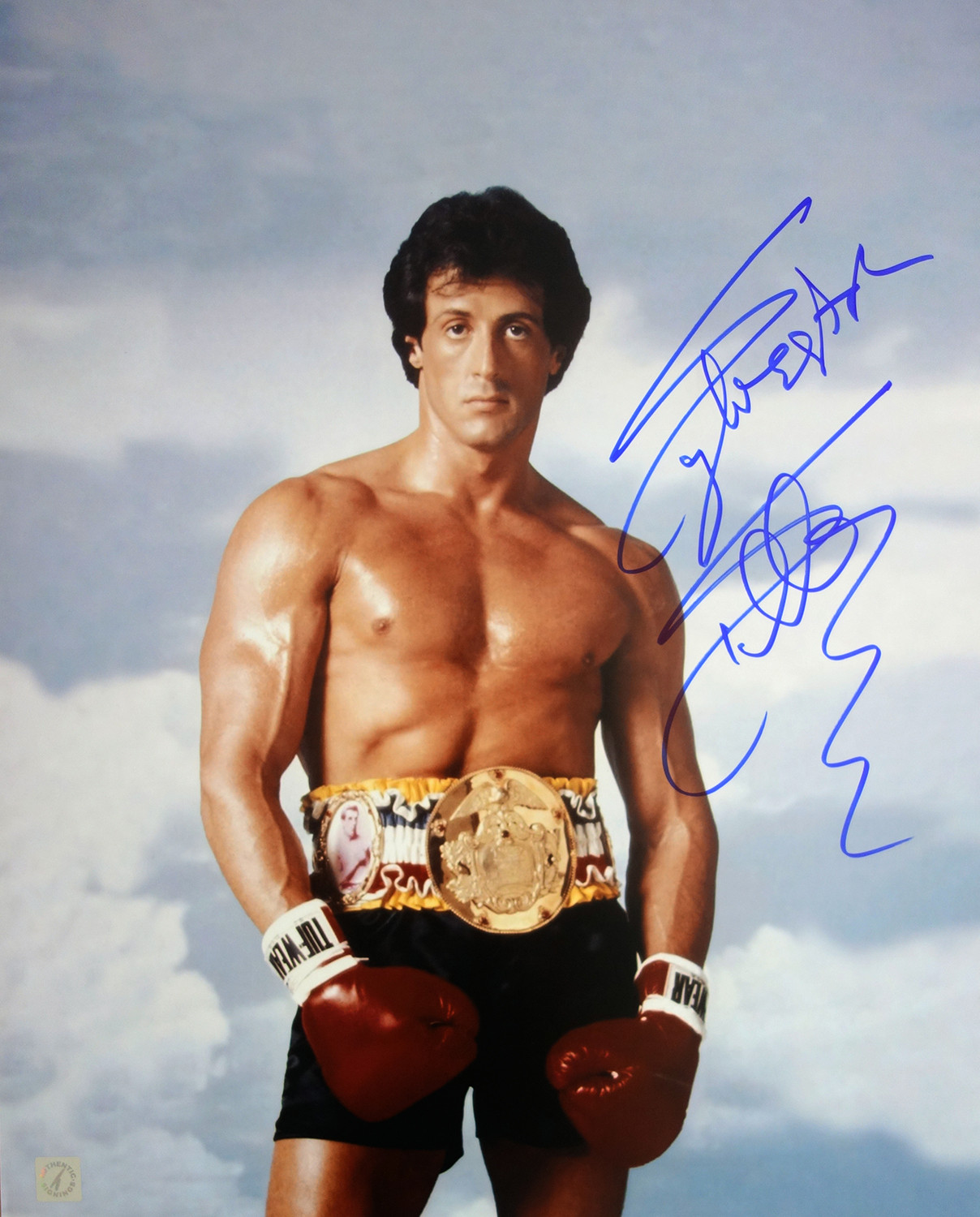 Sylvester Stallone Signed Rocky 16x20 Photo Rocky Iii By Authentic Signings Inc